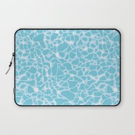 Pool Water Sparkles Laptop Sleeve