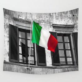 Italian Pride Wall Tapestry