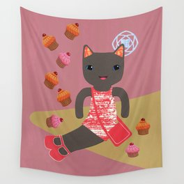 cupcake shower Wall Tapestry