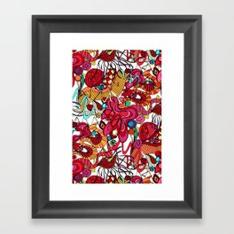 Spanish dance Framed Art Print