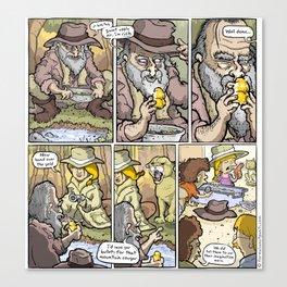 Gold Rush! Canvas Print