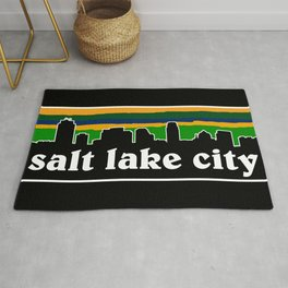Salt Lake Cityscape Rug