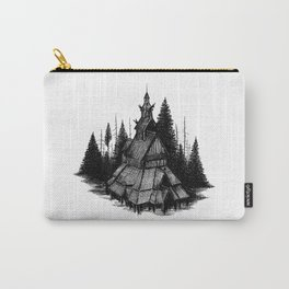 Fantoft Stave Church Carry-All Pouch