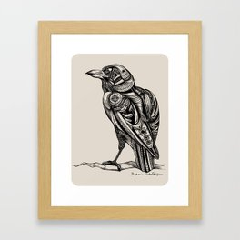 The Inner Workings of a Raven Framed Art Print