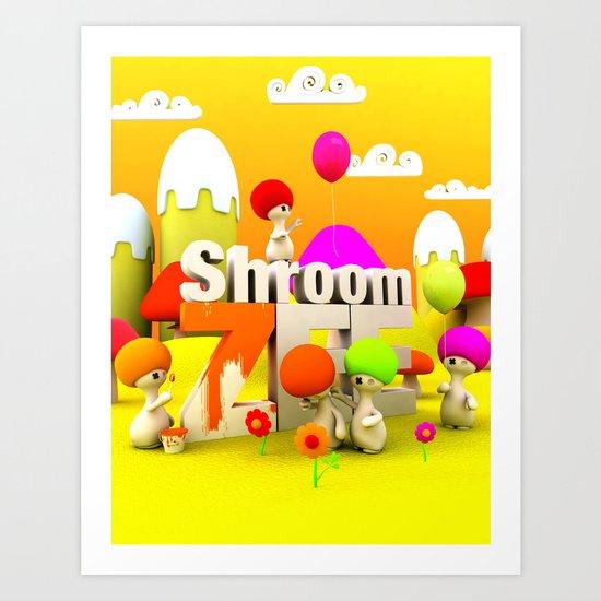 My air Balloon Art Print