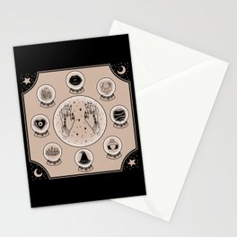 Witch Accessories Stationery Cards