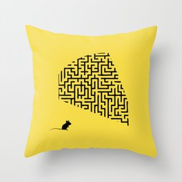 Problem is Solution Throw Pillow