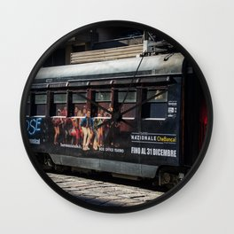 Milano Footloose Tram Wall Clock