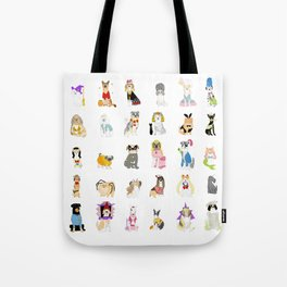 30 Dogs Tote Bag