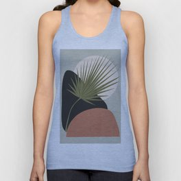 Tropical Leaf- Abstract Art 5 Unisex Tank Top