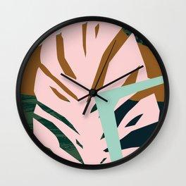 Pattern Study Wall Clock