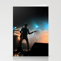 arctic monkeys Stationery Cards featuring Alex Turner // Arctic Monkeys by Hattie Trott