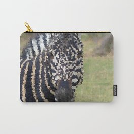 Poly Animals - Zebra Carry-All Pouch