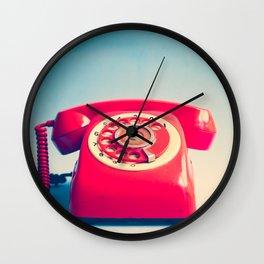 Dr. Strangelove (Vintage Red Telephone) Wall Clock