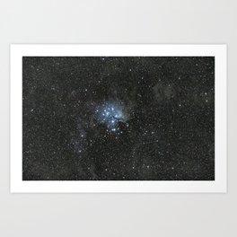 Pleiades. Art Print