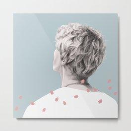 Sakura Man Metal Print