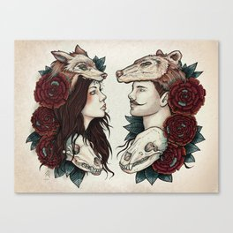 Necromance Canvas Print
