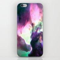 nebula iPhone & iPod Skins featuring Pastel nebULa by 2sweet4words Designs