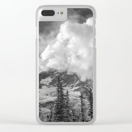 Rainier Obscured Clear iPhone Case