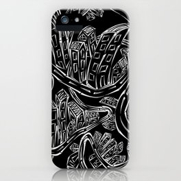 Entangled City Inverted iPhone Case