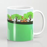 vietnam Mugs featuring Vietnam views by Design4u Studio