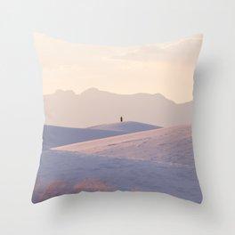 New Mexico Solitude Throw Pillow