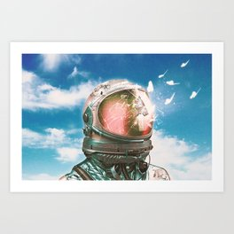 The Breakthrough Art Print