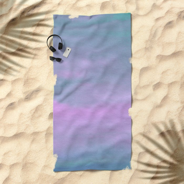 Slow Air Beach Towel