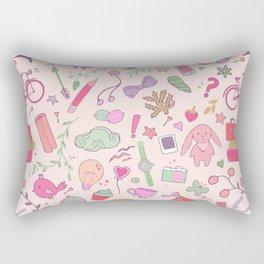Cute Patt Pink Rectangular Pillow