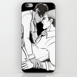 Erwin and Rivaille iPhone Skin
