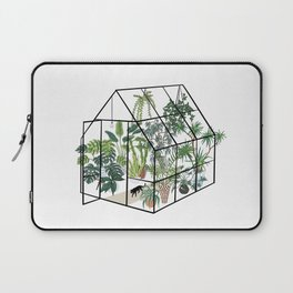 greenhouse with plants Laptop Sleeve