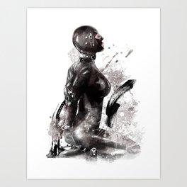 Fetish painting #3 Art Print