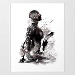 Fetish painting #3 Art Print