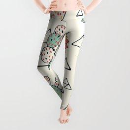 Cute Cactus Succulent Lover Gift Leggings