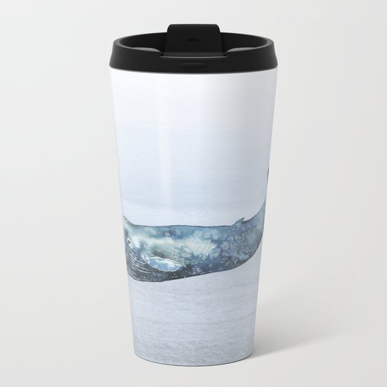 Deep Sea Whale Metal Travel Mug