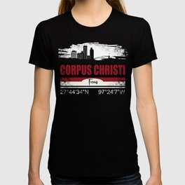 Corpus Christi Texas City Vintage Distressed T-Shirt T-shirt