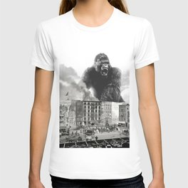 King Kong and the 1904 Fire Department T-shirt