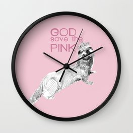 God Save The Pink (version) C) 2017 Wall Clock