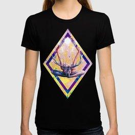 Autre visage du Yoga au Cerf T-shirt