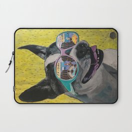 Frosty Face Friday with Gracie Gabriella at the Beach Laptop Sleeve