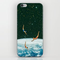 Space jumps iPhone Skin