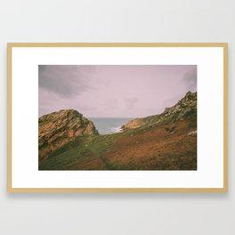 LES LANDES COASTLINE Framed Art Print