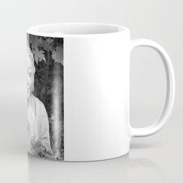 Buddha back and white Coffee Mug