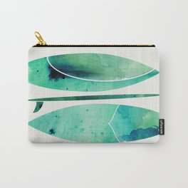 Watercolor Surfboards Carry-All Pouch