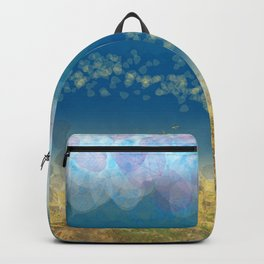 Abstract Seascape 02 wc Backpack
