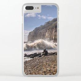 Storm Tide Cliffs End Clear iPhone Case