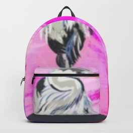 Heron at Sunset Backpack
