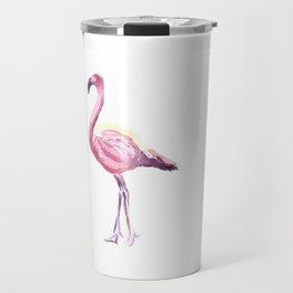 Full Flamingo Travel Mug