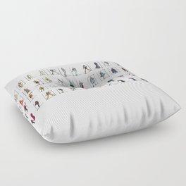 Fashion Rainbow Floor Pillow