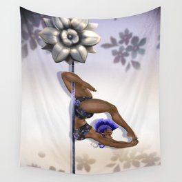Purple Penny Wall Tapestry